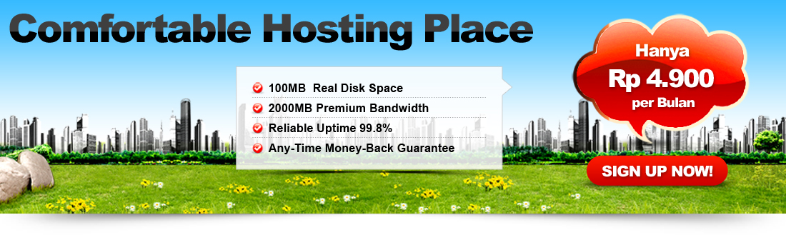 cheap share web hosting murah indonesia solusitotal.com